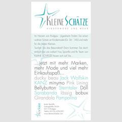 Grafikdesign von Esther Mayer - für jeden Anlass, z.B. Anzeigen