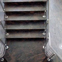 Treppenanlage im Seniorenheim Ehra