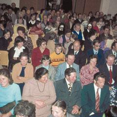 """Achtmal wurde """"Zaida"""" aufgeführt – jedesmal in einem gefüllten Theatersaal."""