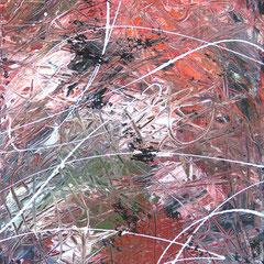 white line, Acryl auf Leinwand, 2015