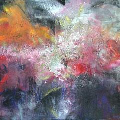 kosmische Impressionen, Acryl auf Leinwand, 2015