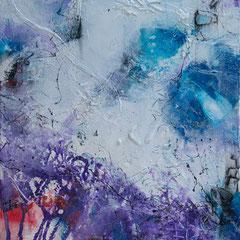 Ice Land - Acryl auf Leinwand, 50x60 cm, 2018, S. Ulrich