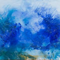 Ich will Meer - Acryl auf Leinwand 100x80, 2019, Silvia Ulrich