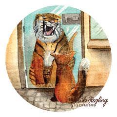 Der Fuchs der gerne ein Tiger wäre
