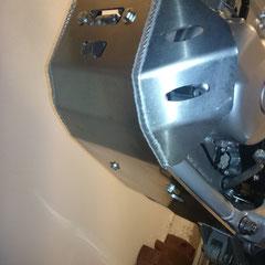 WR250R CRD Motorschutz Skid Plate