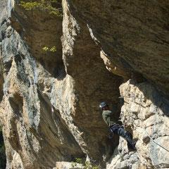 site escalade d'Agnielles la Faurie Hautes-Alpes, crédit phot viaferplay