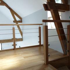 Artisan fabricant d'escaliers, volets, fenêtres.