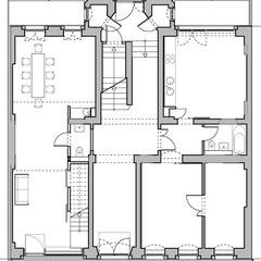 Wohn- und Geschäftshaus - Grundriss Erdgeschoss