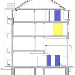 Wohn- und Geschäftshaus - Schnitt A-A