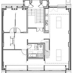 Wohn- und Geschäftshaus - Grundriss 3. Obergeschoss