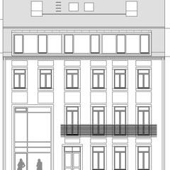 Wohn- und Geschäftshaus - Strassenansicht (Nord)