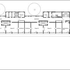 Kindertageseinrichtung - Grundriss Erdgeschoss