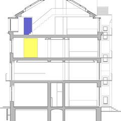 Wohn- und Geschäftshaus - Schnitt B-B