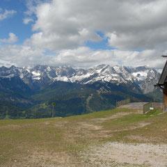 Auf dem Wank, Richtung Wettersteingebirge