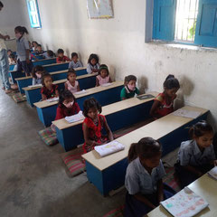 La classe des petits.