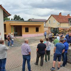 Sargenzell vor dem Erweiterungsbau am Vereinshaus