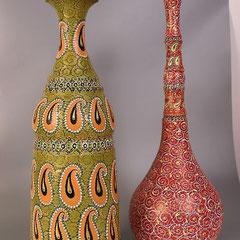 """ваза напольная ручная работа """"Арабская"""""""