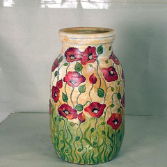 ваза напольная ручная работа