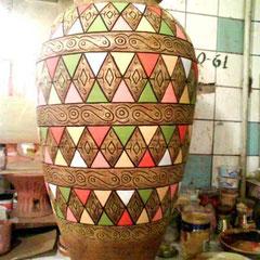 """ваза напольная керамика """"Марокко"""""""