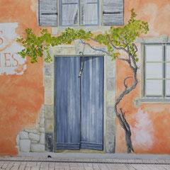 détail mur Vignes Blanches