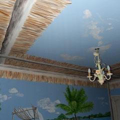 décor chambre H 2.50m x L 6m détail