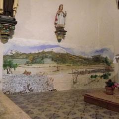 décor pour une église