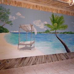 décor chambre H 2.50m x L 6m