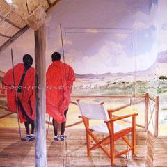 Particulier - décor sur murs & plafonds 35m²