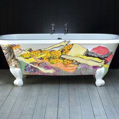 projet décor baignoire