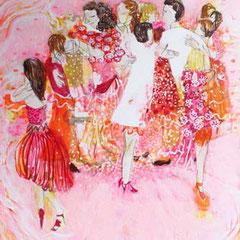 Tangoblume, 70 cm x 50 cm, 2015