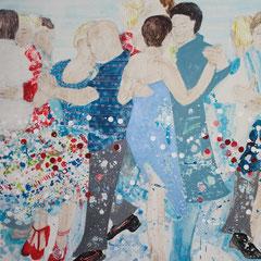 Tangowelle, 120 cm x 180 cm, 2016