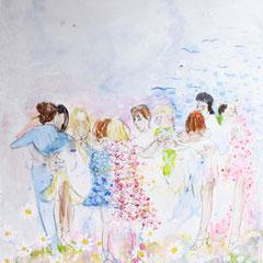Tango Mageritas, 70 cm x 50 cm, 2015