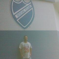 Dylan Forciniti en el club de sus amores - Social Club de Villa Sarmiento - Bs.As