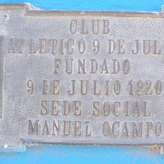 Atletico Nueve de Julio - Manuel Ocampo - Bs.As