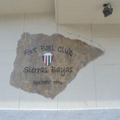 Foot Ball Club - Sierras Bayas - Bs.As