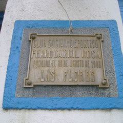 Ferrocarril Roca  - Las Flores - Bs.As