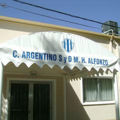 Argentino social y deportivo - M.H. Alfonzo - Bs.As