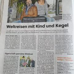 Artikel Salzburger Stadtnachrichten, Dezember 2018