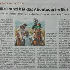 Artikel Pinzgauer Nachrichten, März 2018