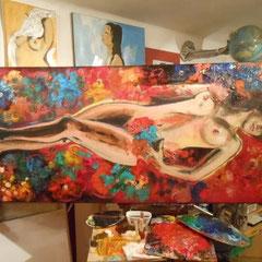 Zuzana  / Acryl / 180*70 cm