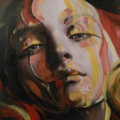 The Last  / 1,50 x 1,20 m Acryl auf Holz