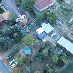 Stefans Elternhaus von oben