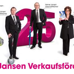 Jansen Verkaufsförderung, Einladung Jubiläum