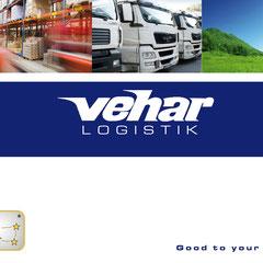 Vehar Logistik Imagebroschüre