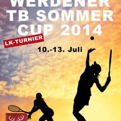 Flyer Werdener TB-Sommer-Cup