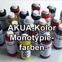 AKUA-Monotypiefarben