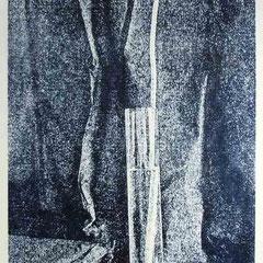 Lithografie von Wolfgang Schieweck