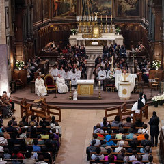 Notre Dame des Victoires, 2012, Neuvaine pour les malades, Reliques de Ste Thérèse