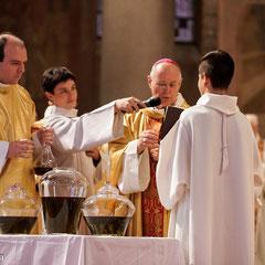 Messe Chrismale; Cathédrale de Nanterre; Mgr Duacourt; 2012
