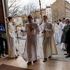 Messe Chrismale; Cathédrale de Nanterre; Mgr Daucourt; 2012